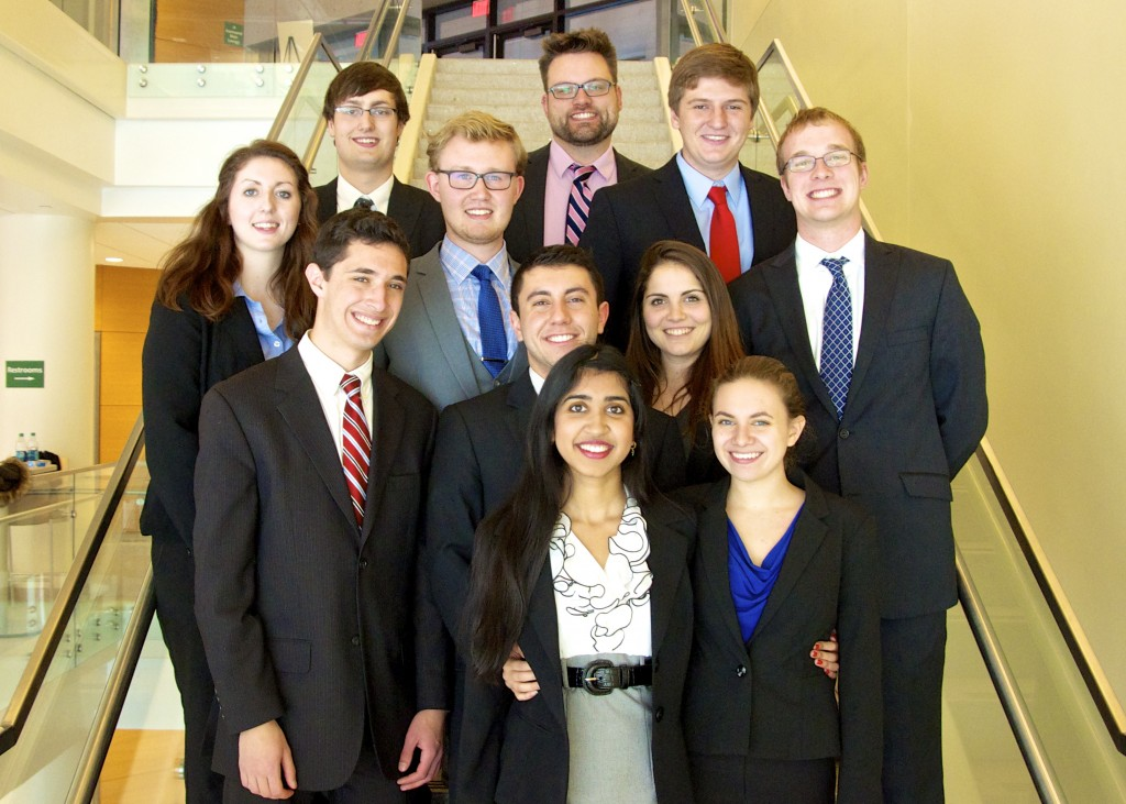 UConn Moot Court Team 2014