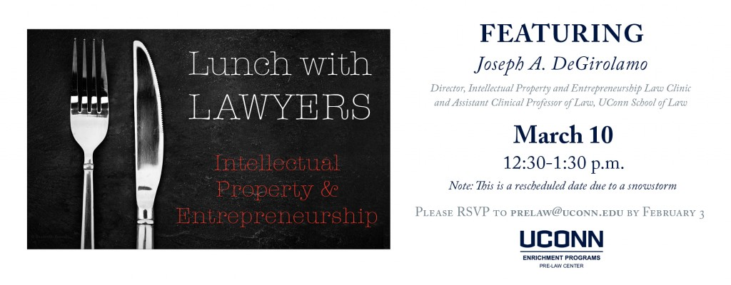 Lunch with Lawyers Flyer